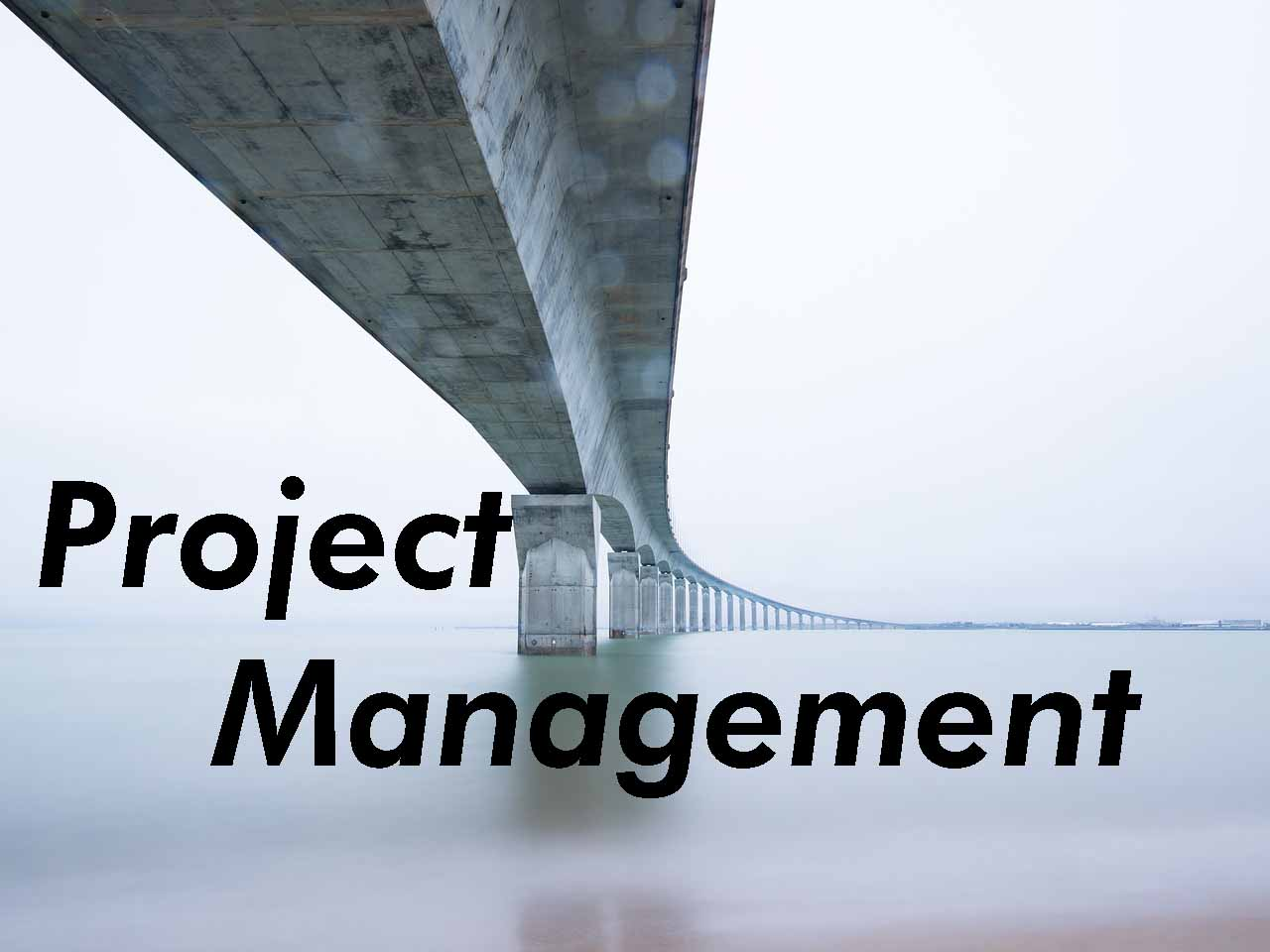 Project Planning, Management & Oversight