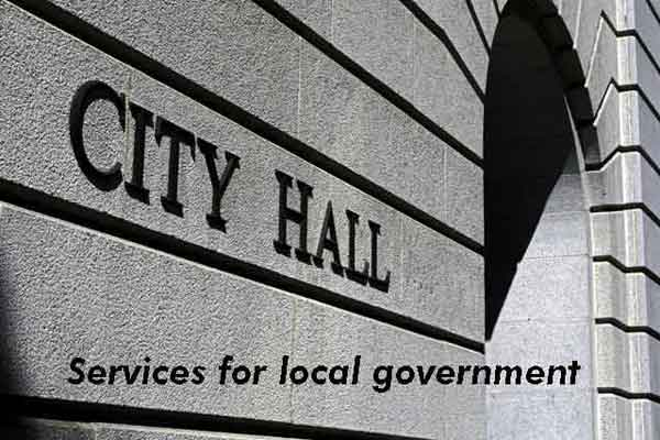Services for local government