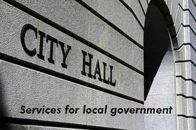 Services for local governments